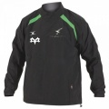 Strathspey Osprey Mini's Team Gilbert Jet Training Jacket Junior Black/Green