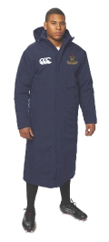 Canterbury Pro Subs Coat Navy