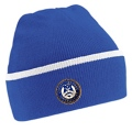 Teamwear Beanie Royal Blue / White