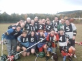 Gladiators v Stirling Uni, October 2003 - their first ever match!! still