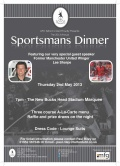 Sportsman Dinner Marquee Events - Sportsman Dinner