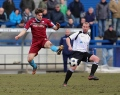 AFC Telford United 0 Nuneaton Town 3 Saturday 30 March 2013 Blue Square Bet Premier still