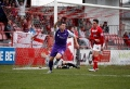 Ebbsfleet United 1 AFC Telford United 3 Saturday 13 April 2013 Blue Square Bet Premier still
