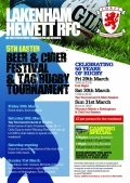 5th Easter Beer Festival and Tag Tournament
