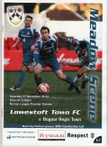 Lowesfoft Town Vs Bognor Regis Town.17/11/2012 still
