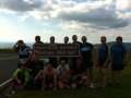 Birstall Rugby Club members complete the Coast to Coast Challenge image