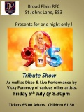 Dolly Parton Tribute - Friday 5th July 2013