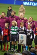 2012-11 - Charlie (U12's) Dan Cole's Mascot at Eng vs. SA still
