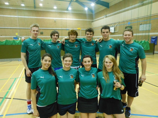 CUKC Second Team finishing 3rd at the Cardiff Freshers' Tournament, October 2012.