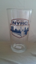 NYRC Water Bottles and Pint Glasses