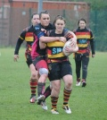 Rangers Ladies defeated 22 - 10 despite strong second half comeback