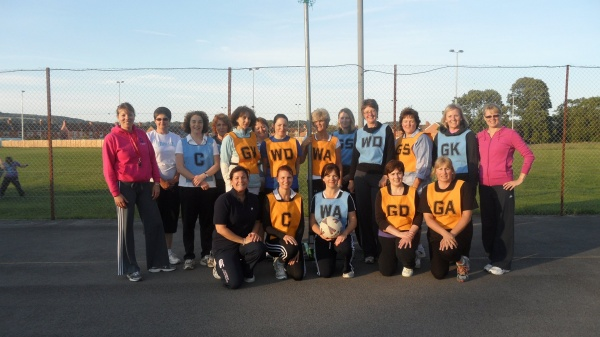 Back to Netball Summer 2011.