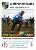 Learn to Play the Harlequin Way - Summer Rugby Training Camp