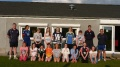 England Women's Cricketers take Girls training session at Egremont Cricket Club