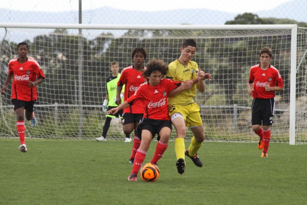 Under 16 players earn trials with Stoke City.  image