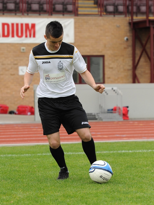 Under 19 player Aled Reece makes first senior competitive appearance for the club image