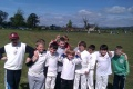 Kwik Cricket team for festival at Stirling CC