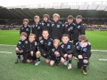 U8 Guard of honour Swansea City v QPR Feb 2013 still