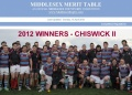Chiswick win Middlesex Merit Table 2012!! image