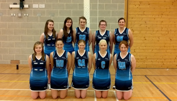 Back Row (l-r): Emma Pool, Jodie Thompson, Megan Laverie, Lesley Smith, Nicola Parkingson