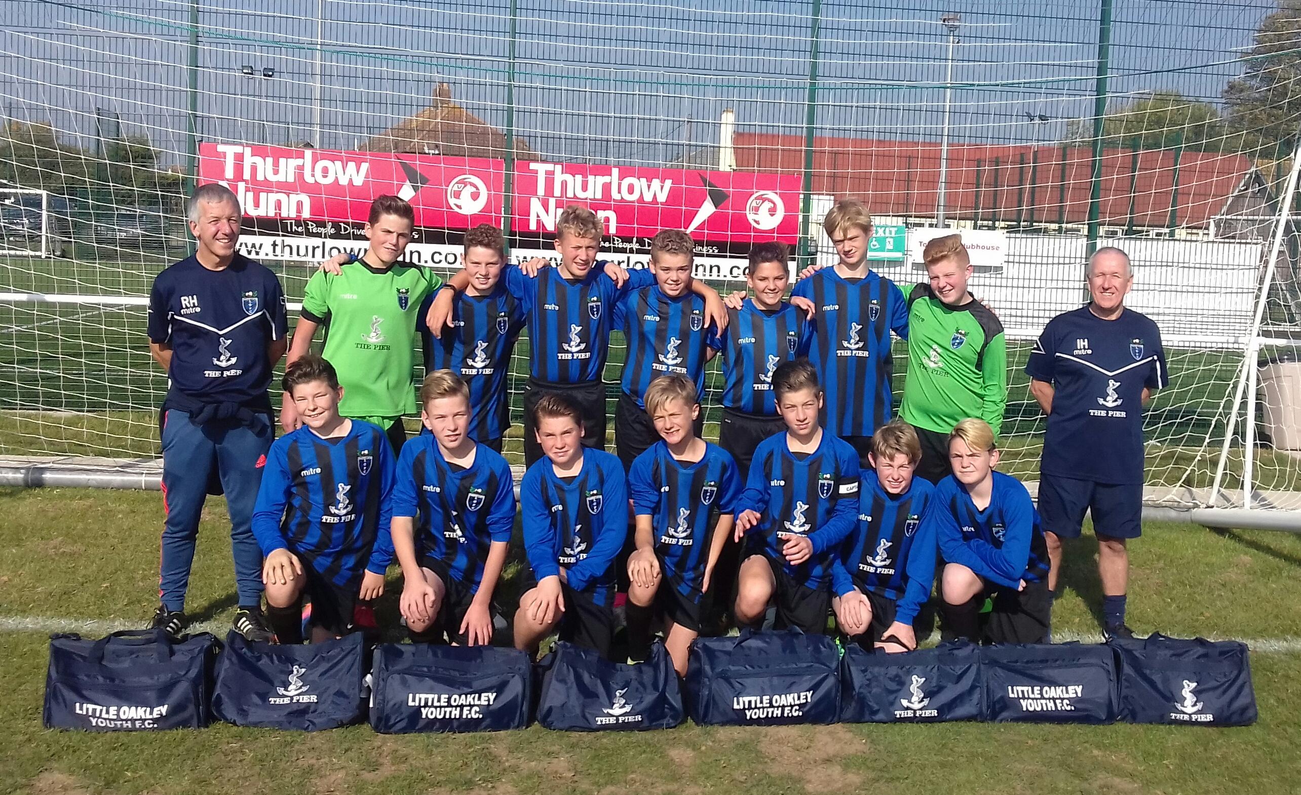 Football Clubs: Little Oakley Football Club Vs. Wivenhoe Tempest