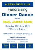 Fundraising Dinner Dance June 2013
