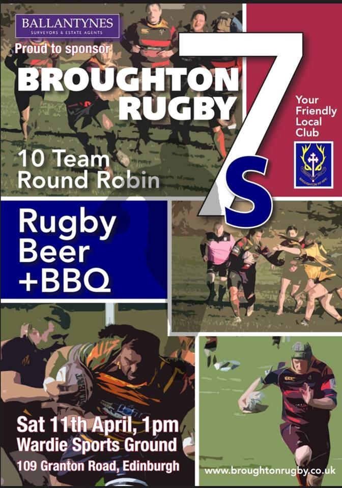 The Broughton Ballantynes Sevens Tournament Broughton Rugby Club