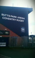 Royals to play at the Butts Park Arena image