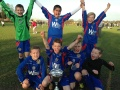 Under 9s treble winners  still
