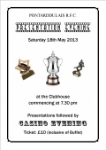 Presentation Evening - Sat 18th May 2013