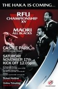 New AlbumEngland Championship Select XV v Maori All Blacks still