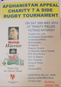 Welsh Warior Charity 7s Tournament - 26th May image