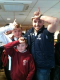 Mascots @ Nottingham RFC still