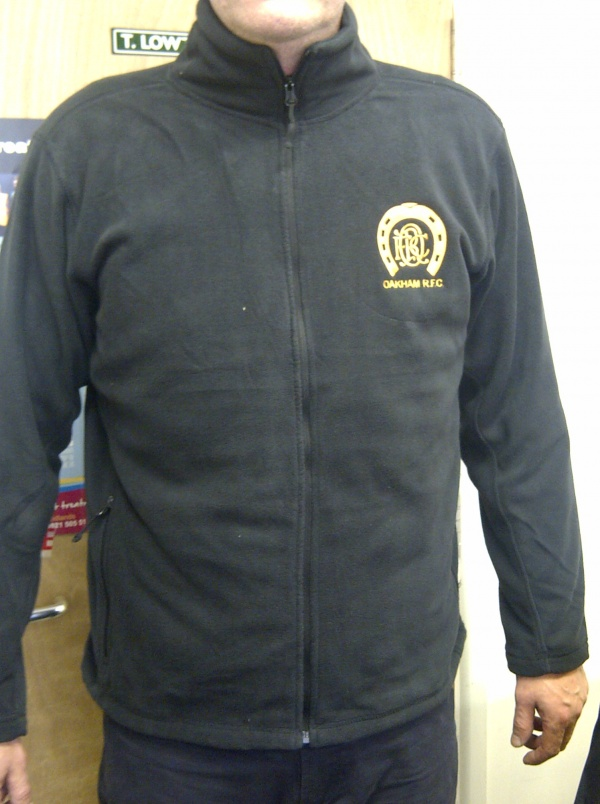 Image: Full Outdoor Fleece (8700) with Embroidered Logo