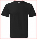 Classic Black T-Shirt with club logo