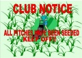CLUB NOTICE: PITCHES HAVE BEEN SEEDED-OUT OF BOUNDS UNTIL FURTHER NOTICE image