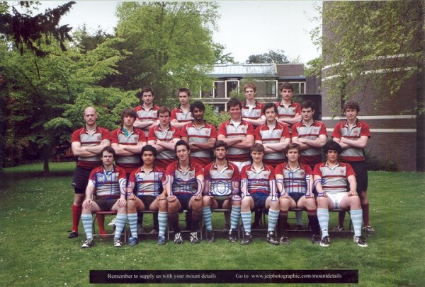 Back Row: Callum Abbot, Tom Whalley, Mike Jones, James Charlston.