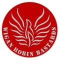 Robins supporters badge