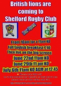 The Lions are coming to Shelford!