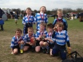 U7's Champs at the Surrey Rugby Festival still