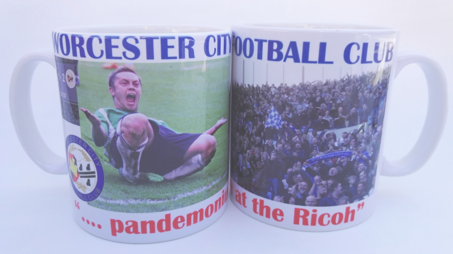 Image: Pandemonium At The Ricoh Mug