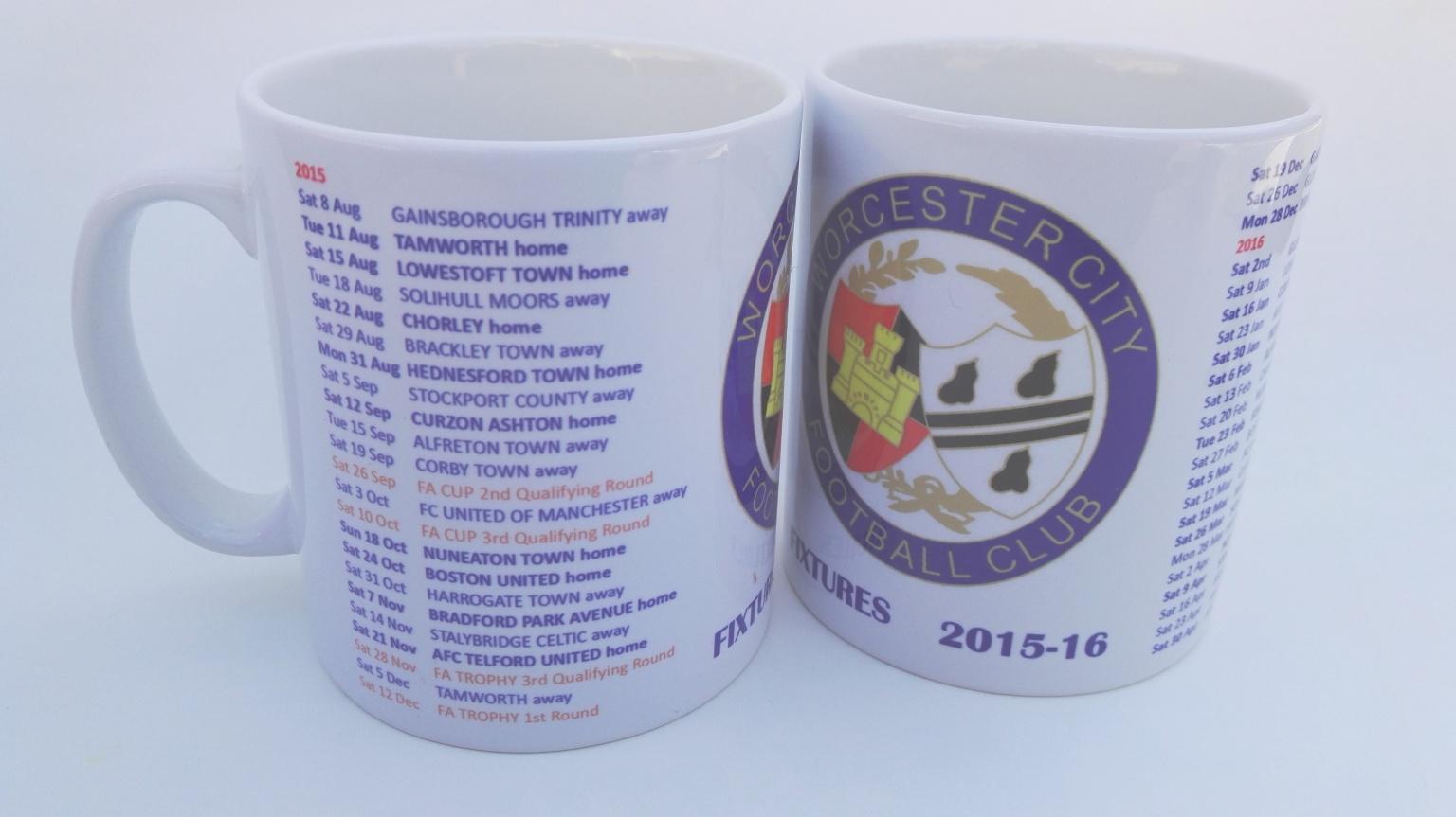 Image: 2015/16 Fixtures Mug