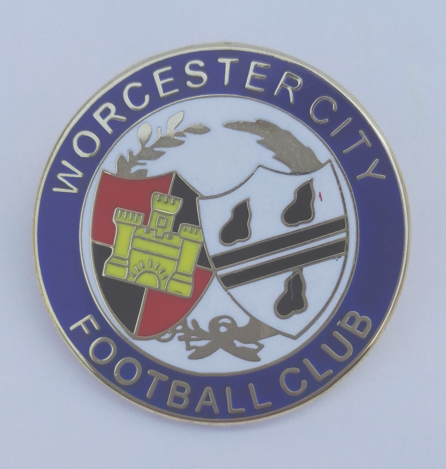 Image: Blue Crest Pin Badge