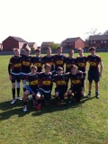 U15's NLD 7's Bowl winners at West Bridgeford still