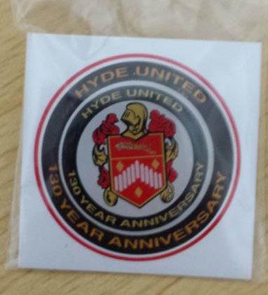 Image: 130 Anniversary Pin Badge