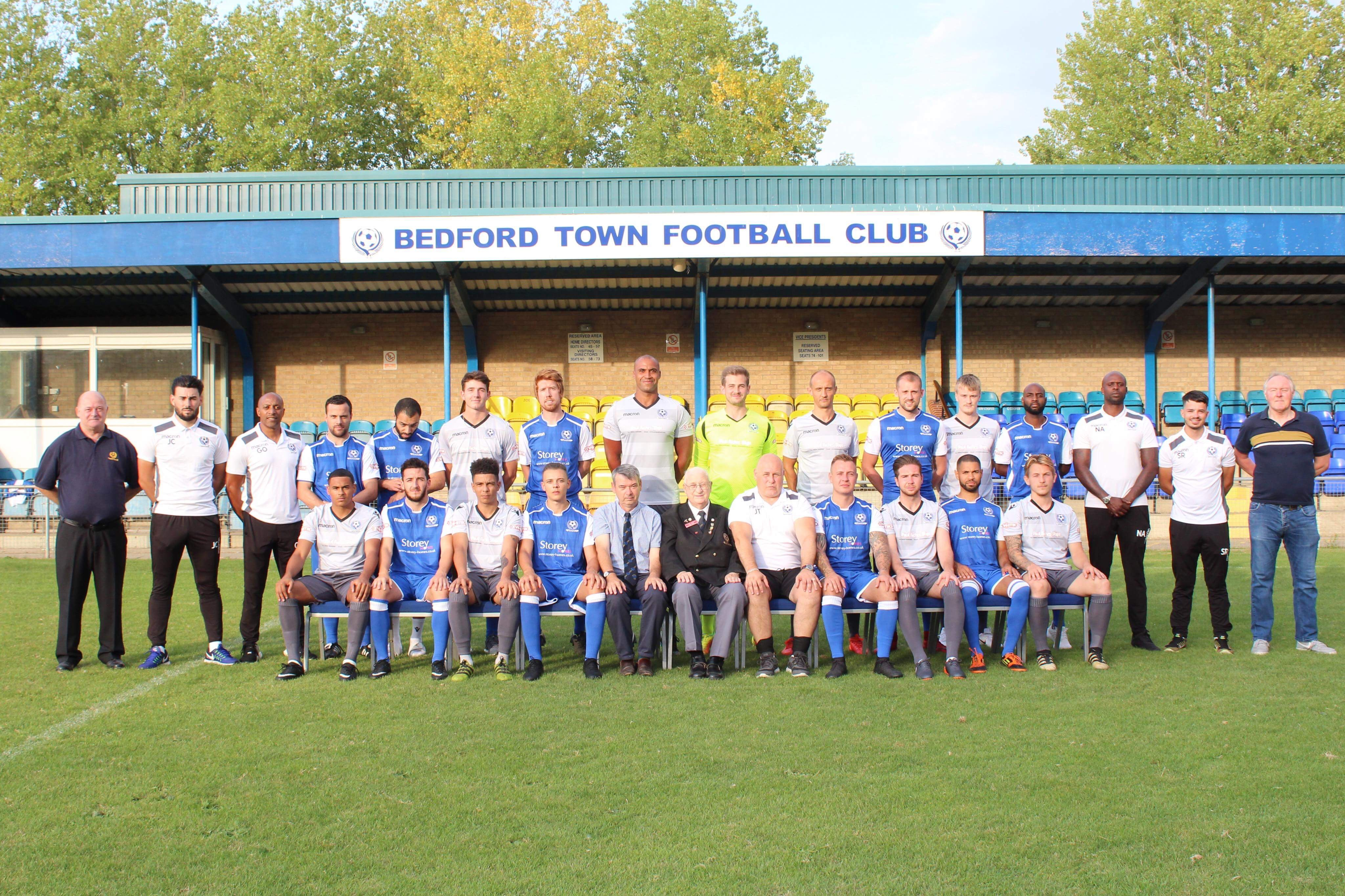 Bedford Town Football Club 7 Vs 0 Aldershot Town Fc 18 December