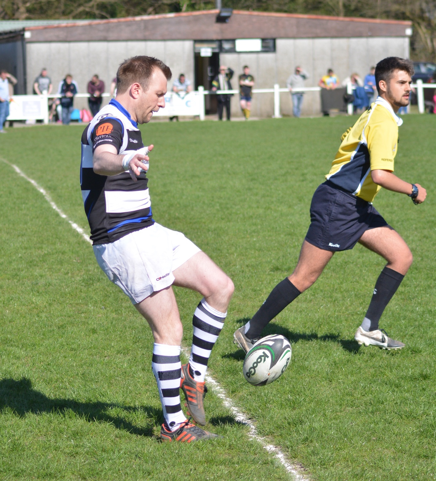 Old Rugby League Games: TRAFFORD MV Vs OLD SALIANS RUGBY MATCH