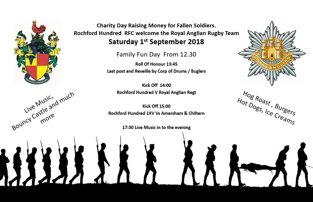 Charity Day Raising Money For Fallen Soldiers Rochford Hundred