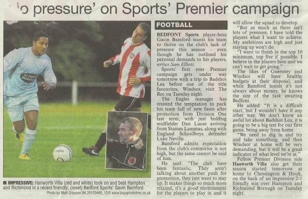 Sports in the Chronicle 03/08/12 image