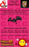 Whats happening with Cumnock Rugby Club this October image